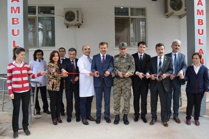 Yenişehir Devlet Hastanesi'ne Yeni Acil Servis