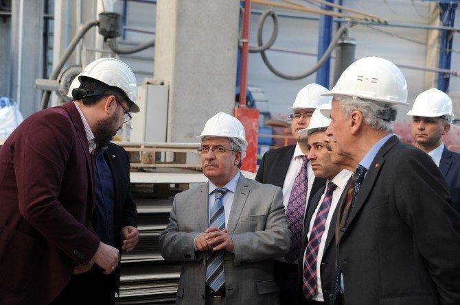 Vali Nayir'dan Sanayi Kuruluşlarına Ziyaret