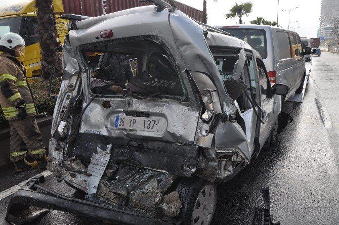 Korkutan Zincirleme Kaza: Beş Yaralı