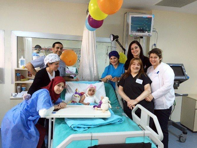 Savaş Mağduru Culya Doğum Gününü Yoğun Bakımda Kutladı