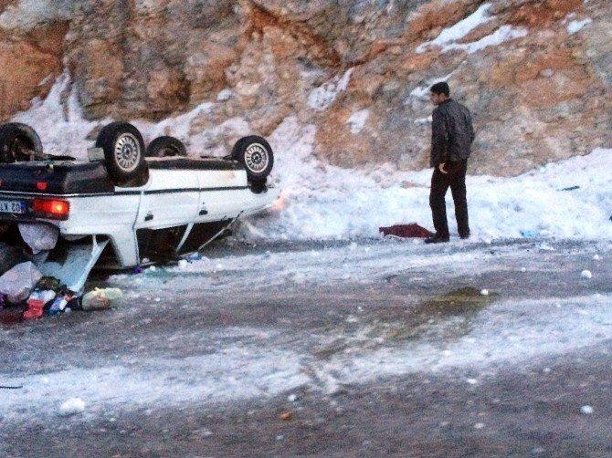 Adıyaman-malatya Yolunda Kaza: 4 Yaralı