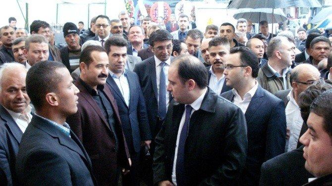 AK Partili Vekillerden Sarıgöl Ziyareti