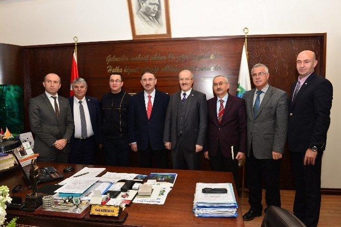 Başkan Kafaoğlu Bursa'da Temaslarda Bulundu