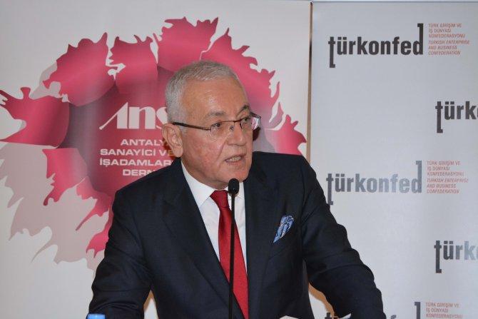 Turizm ve tarım Antalya'ya yetmiyor, büyüme için üçüncü sektör şart