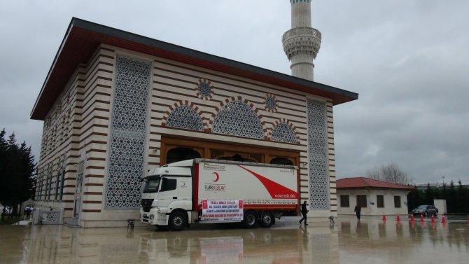 Atatürk Havalimanı'ndan Bayırbucak Türkmenleri'ne yardım