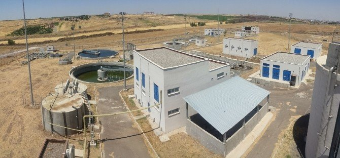 Siverek Atık Su Arıtma Tesisi Kendi Elektriğini Üretiyor