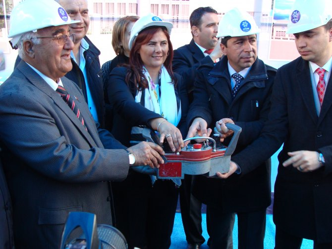 Aydın Çakırbeyli'de muhtarlık binası ve çok amaçlı salon temeli atıldı
