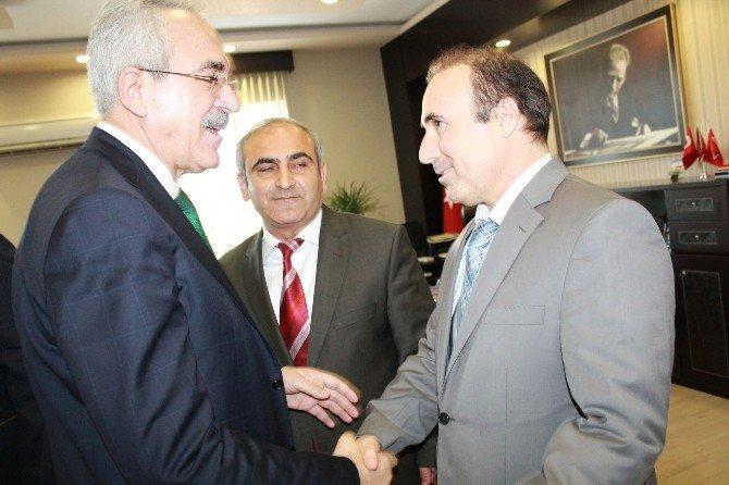 AK Parti Milletvekili Aydın, Kurum Amirleriyle Buluştu
