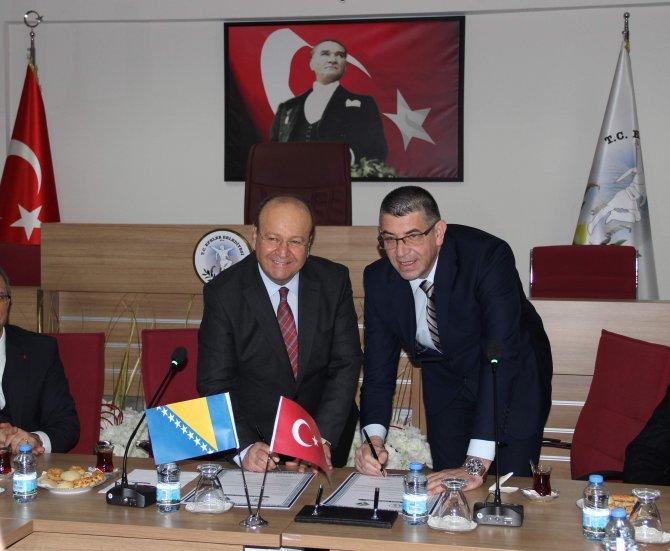 Aydın'ın Efeler ilçesi Srebrenitsa ile kardeş oldu