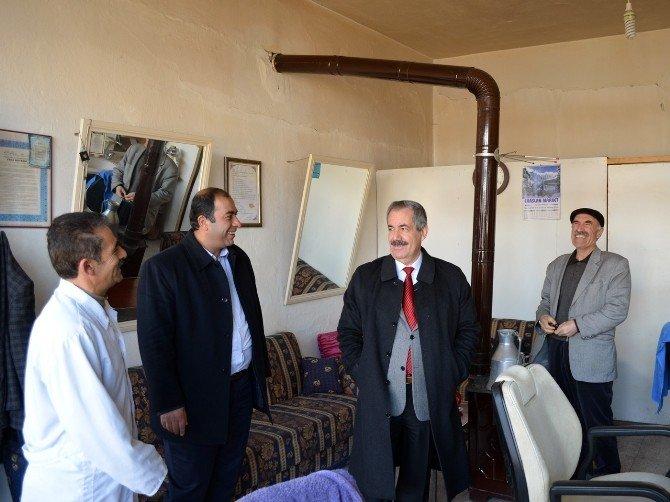 Belediye Başkanı Gürsoy'dan Esnaf Ziyareti