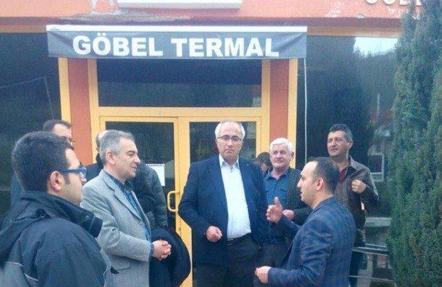 Başkan Güler Göbel'deki Çalışmaları İnceledi