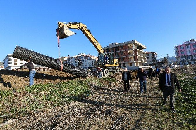 Efes Sanayi Sitesi Su Baskınlarından Kurtuluyor