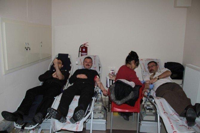 Çevre Ve Şehircilik Müdürlüğü'nden Kan Bağışı Gerçekleştirildi