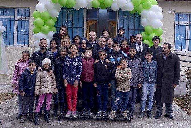 Tepebaşı'nın 5. Çocuk Sanat Merkezi Çukurhisar'da Açıldı