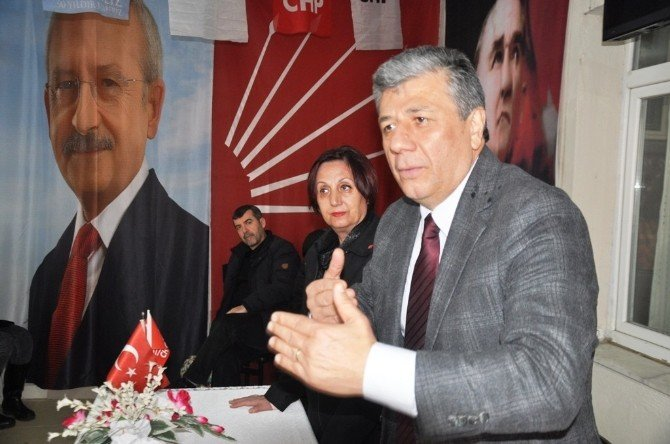 Mustafa Balbay Ödemiş'i Ziyaret Etti