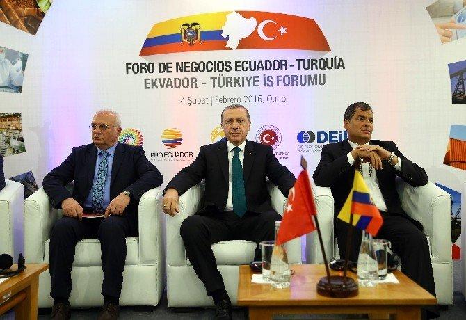 Cumhurbaşkanı Erdoğan İş Forumunda Konuştu