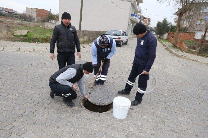 Efeler Belediyesi İlaçlama Çalışmalarını Sürdürüyor