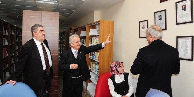 Erzurumlular Vakfı Başkanı Mehmet Sabri Seven'den ETÜ'ye Ziyaret