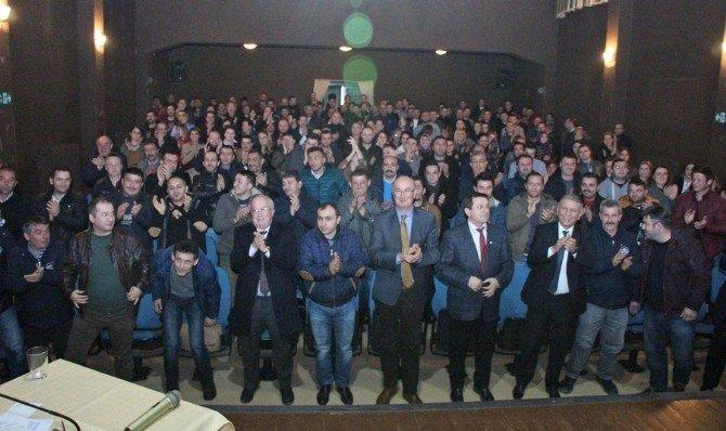 Başkan Aksu, Taşeron İşçiler İle Bir Araya Geldi