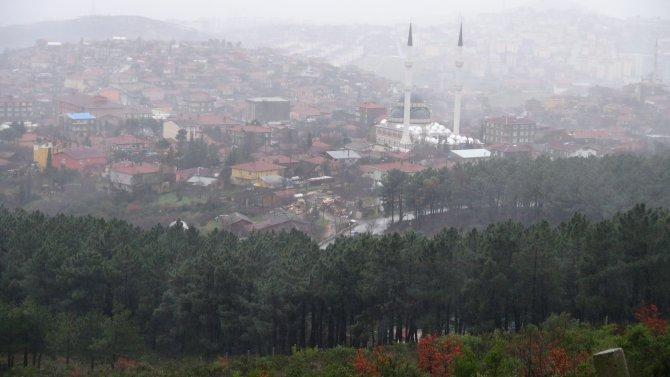 Anadolu Yakası'nda kar yağışı başladı