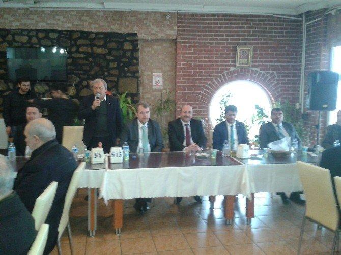 AK Parti Bilecik Milletvekili Eldemir'in Osmaneli'de İstişare Toplantısı