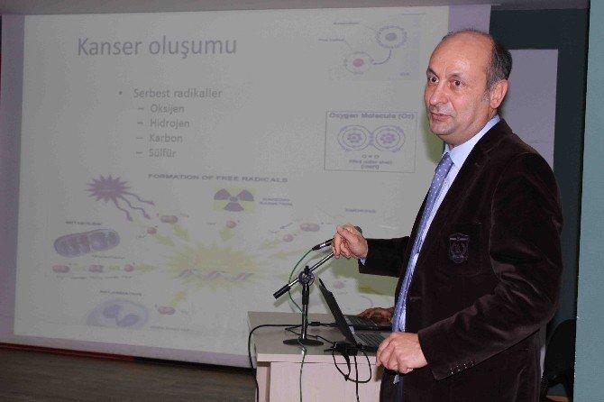 """Prof. Dr. Ertem: """"Kanserden Korunmak İçin Fazla Yeme Spor Yap"""""""