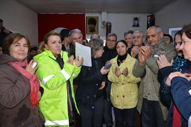 Urla Ovacık'ta RES eylemi
