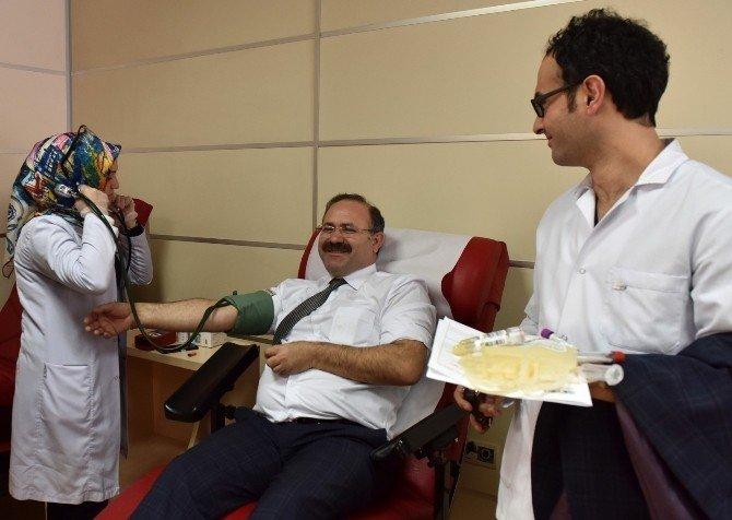 Kent Konseyi'nden Kan Bağışı Kampanyası'na Destek