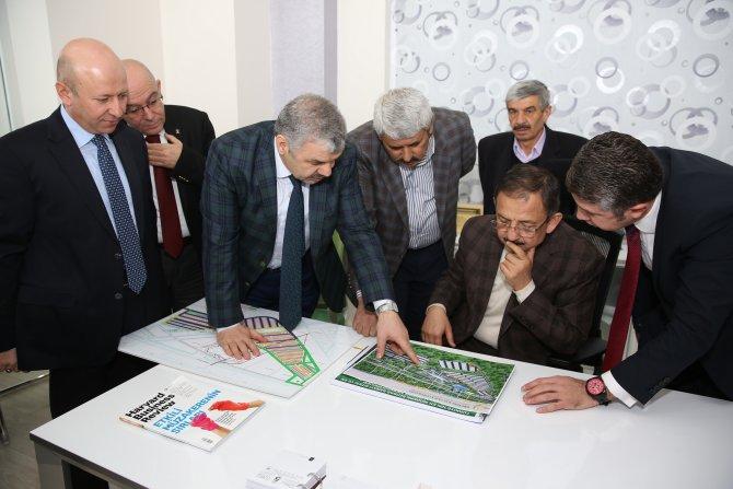 Mobilyakent'te başkanlardan inceleme