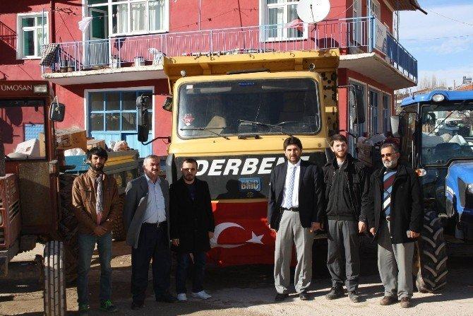Derbent'ten Bayırbucak Türkmenleri'ne Yardım