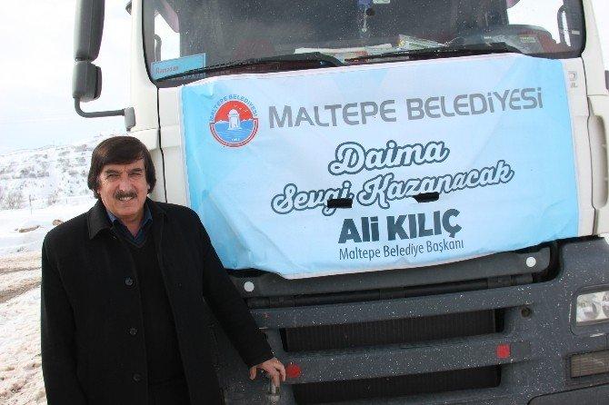 İstanbul'dan Yola Çıkan Konteynerler Kiğı'ya Ulaştı