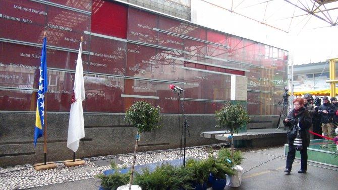 Markale pazar yeri katliamında hayatını kaybedenler anıldı