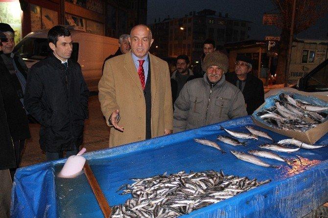 Acun Ilıcalı'nın Milletvekili Amcası, Balık Dağıttı