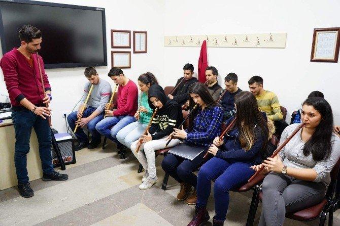 Nevşehir'de Ney Eğitimlerine İlgi Artıyor
