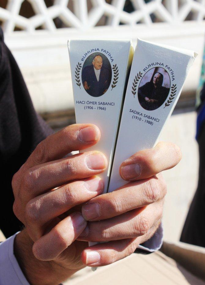 Sabancı Vakfı, vefat eden aile üyeleri için mevlit okuttu