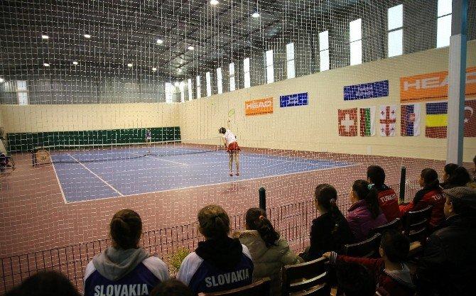 Avrupa Tenis Kış Kupası Buca'da Başladı