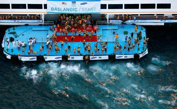 Samsung Boğaziçi Kıtalararası Yüzme Yarışı Heyecanı Başlıyor