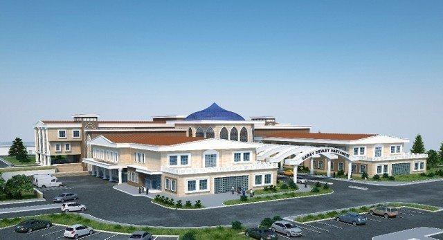 Yeni Hastanenin Yapımında Sona Yaklaşıldı