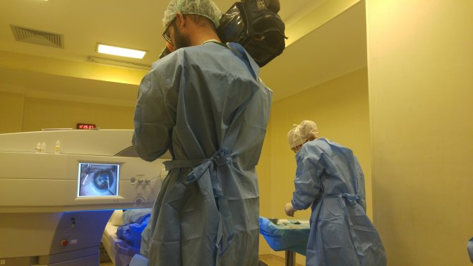 'Dünyada ilk Smile lazer yöntemiyle göz ameliyatı, Türkiye'de yapıldı'