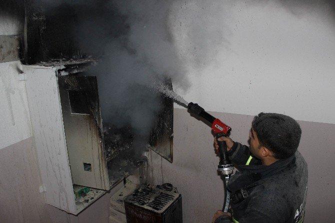 Apartman Trafosunda Yangın Çıktı