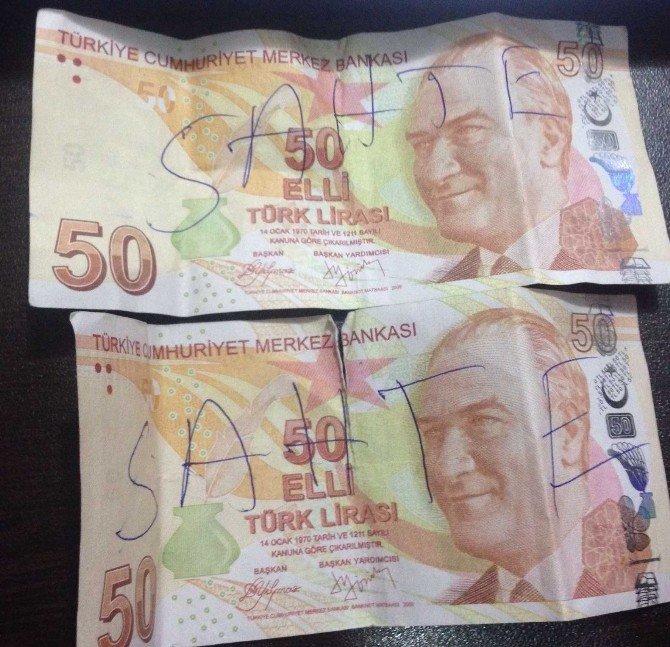 Piyasaya Sahte Para Süren Şahıslar Tutuklandı