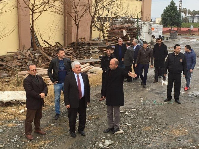 """Milletvekili Türkoğlu: """"Birileri Gençlerimizi Gezi'de, Hendek Ve Çukurlarda Boğuyor"""""""