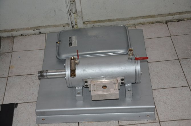 Ankaralı mucit günlük 2 liralık elektrik tüketimi ile suyla çalışan kombi üretti