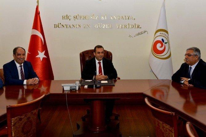 RTÜK Başkanı İlhan Yerlikaya Ve Ratem Üyelerinden Vali Türker'e Nezaket Ziyareti