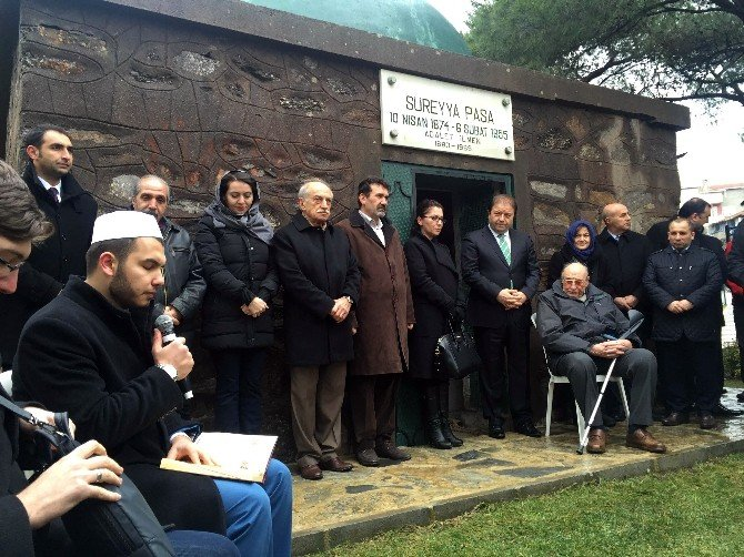 Süreyya Paşa 61'inci Ölüm Yıl Dönümünde Mezarı Başında Anıldı