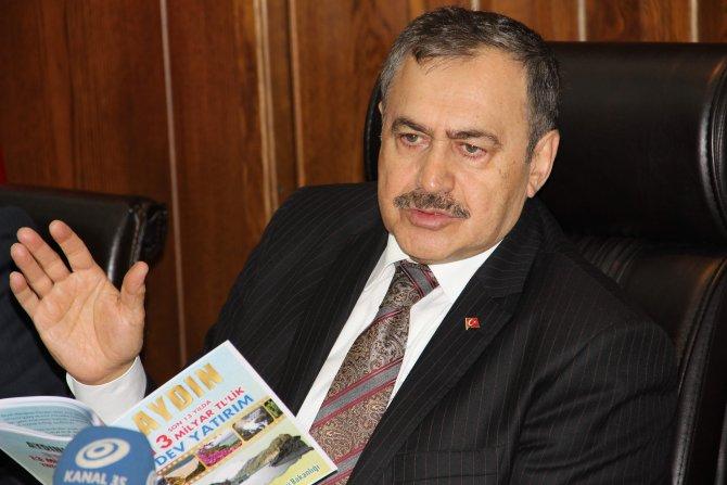 Bakan Eroğlu: Yassıada'da ağaç mağaç yok