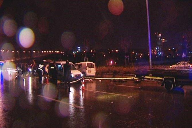 Ankara'da feci kaza: 5 ölü (2)