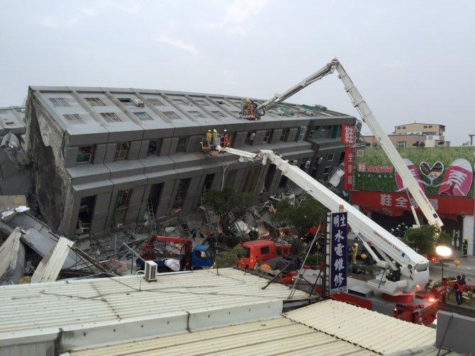 Tayvan'da büyük deprem