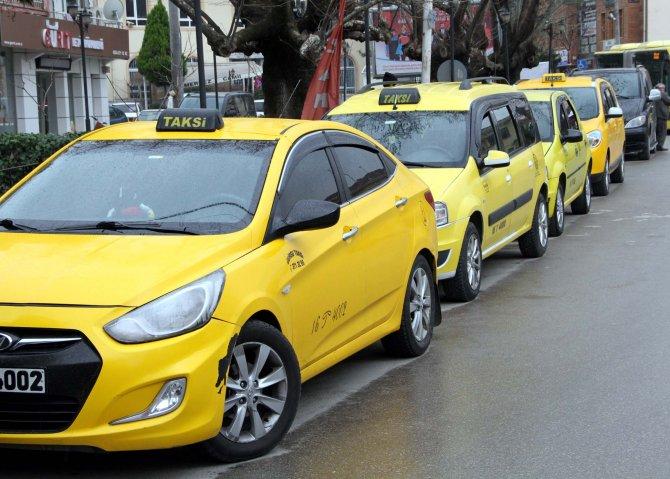 Gürsulu taksicilerin 'üvey evlat' isyanı