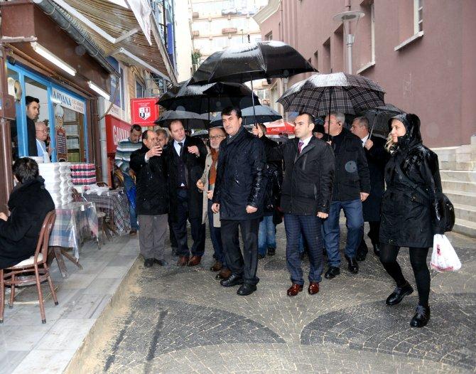 Bursa'da Sanatçılar Sokağı yenileniyor